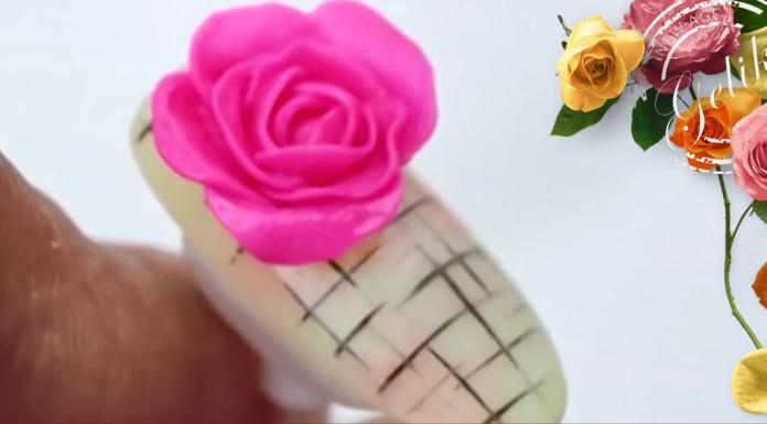 create rose nails